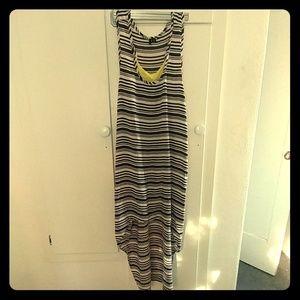 Kensie Spring/Summer High Low Maxi Dress